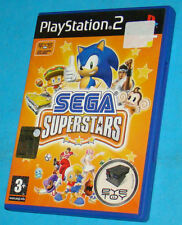 Sega Superstars - Sony Playstation 2 PS2 - PAL