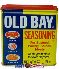 Old Bay Seasoning 170g Can For Seafood Poultry Salads & Meats