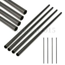 Black 4Pcs Carbon Fiber Tube Rod Boom for RC Xcopter Quadcopter 33cm*8mm*6mm NEW