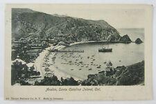 Vintage Catalina Island Avalon California Postcard Avalon Postmark Cancel 1906