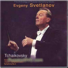 TCHAIKOVSKY SYMPHONY NO 2 EVGENI SVETLANOV NEW CD