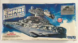 MPC ERTL Star Wars Empire Strikes Back STAR DESTROYER Model kit ~1980s ~Unopened
