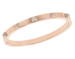 Swarovski Tactic Rose Gold Size 2.5 inches Bangle Bracelet 1945801