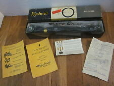 RARE NOS Vtg BUSHNELL Scopechief 4x32 Rifle Scope Chief - Lyman Unertl Leopold