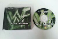 CD - WWF World Wrestling Federation Music 4 Compilation CD 1999 Titan Sports WWE