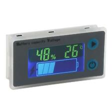 Battery Monitor, Drok 10-100V Digital Battery Capacity Tester, Percentage Level