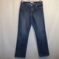 "Chico's Platinum Denim Straight Jeans Women's Size 1.5 Blue 30 3/4"" Inseam"