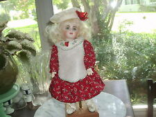 No Doll Ooak Darling Christmas Holly Outfit For Bleuette