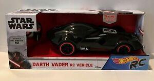 Hot Wheels Star Wars R/C Darth Vader Remote Control Car Vehicle Mattel. NIB