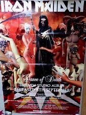 IRON MAIDEN - Dance of death - AFFICHE
