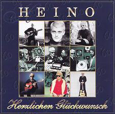 HEINO - 2 CD - HERZLICHEN GLÜCKWUNSCH