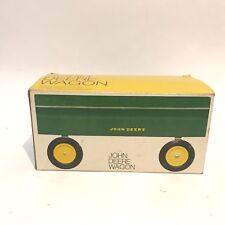 Vintage Ertl 1/16 John Deere Wagon with Box Nice