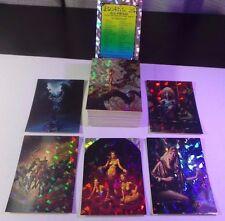 BORIS 3: ALL-PRISM ~ 72 BASE TRADING CARD SET ~ COMIC IMAGES 1993 ~ NEAR MINT