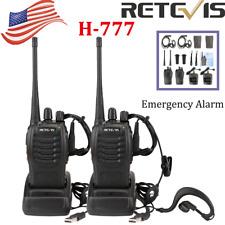 2Xretevis H777 WalkieTalkie Ctcss/Dcs Uhf Long Range Handheld 2Way Radio Tot Us