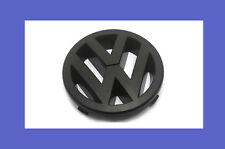 Matte Black Front Grille Emblem Badge For VW Golf Jetta MK5 GTI GLI 2.0T NEW