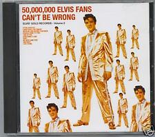 50,000,000 ELVIS FANS CAN'T BE WRONG - NEW SEALED CD