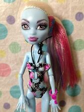 Monster High Doll  2012 Abbey Bominable Skull Shores Series Loose With Clothes