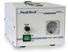 PeakTech 2240 Trenntransformator, 230 V, 500 W/ AC Power Source, 230 V, 500 W