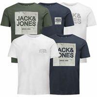 Mens T Shirt JACK & JONES Stride Crew Neck Short Sleeve Graphic Tee