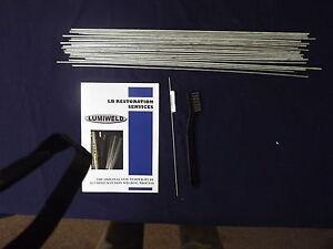"Lumiweld 18"" Rods (pk of 20) For Aluminium Repair"