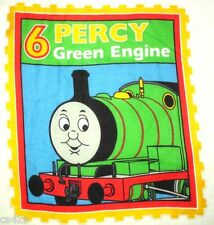"11"" THOMAS THE TRAIN TANK PERCY FABRIC WALL SAFE FABRIC DECAL CHARACTER CUT OUT"