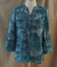 Covington Essentials, Small, Blue/ Green Multi Top/ Cami, New with Tags