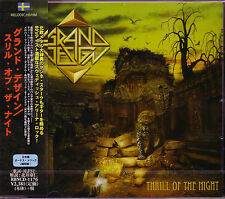 GRAND DESIGN Thrill Of The Night + 2 JAPAN CD Def Leppard W.E.T. Winger Chorus !