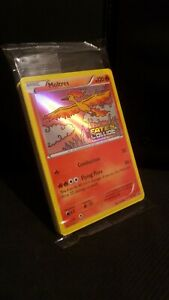 POKEMON SEALED MOLTRES XY127 PRERELEASE PROMO XY FATES COLLIDE