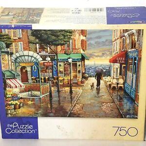 Roseart Rainy Day Stroll Promenade Pluvieuse 750 Piece Jigsaw Puzzle NIB Sealed