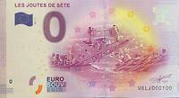 BILLET 0  EURO LES JOUTES DE SETE   FRANCE 2017 NUMERO 100
