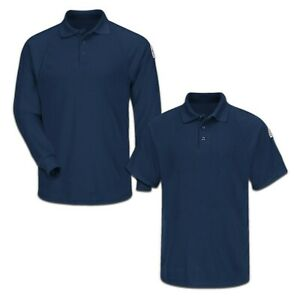 Bulwark FR Polo Lightweight Classic CoolTouch Flame Resistant Industrial Uniform