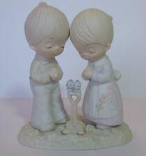 """Precious Moments  E-1375B """"Prayer Changes Things"""" Original 21 Hourglass Mark"""