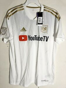 Adidas MLS Jersey Los Angeles FC (LAFC) White sz XL