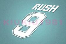 Liverpool Rush #9 1995-1996 Homekit Nameset Printing
