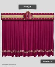 Saaria Marque Home Decorative Event Hall Stage & Movie Theater Curtains 7'Wx8'H
