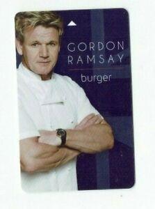 Planet Hollywood Gordon Ramsay Room KEY Card - Las Vegas Casino Hotel - Burgr
