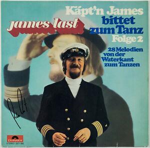 JAMES LAST - Käpt`n James bittet zum Tanz 2 - LP - Autogramm auf Hülle signiert