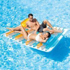 Materassino Intex materasso matrimoniale gonfiabile piscina mare 56897 - Rotex