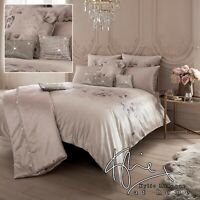 Kylie Minogue Bedding LUCIANA Blush Pink Floral Duvet Cover, Cushions or Throw