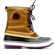 New Sorel Womens US 10 EU 41 Brown 1964 Premium Waterproof Winter Lace Up Boots
