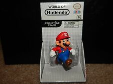 World Of Nintendo Mario Collectible Figure Rare Free Shipping Jakks Pacific
