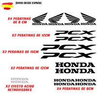 PEGATINA VINILO ADHESIVO HONDA PCX MOTO VINIL STICKER DECAL KIT DE 16 unds