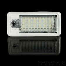 2PCS LED License Plate Lights Xenon White For AUDI A3 S3 RS3 (8P/8PA) 2004-2012