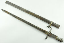 1890`S ORIGINAL TURKISH SWORD BAYONET OTTOMAN MAUSER SCABBARD M1890 WW1 WW2