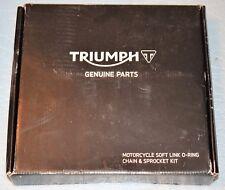 kit chaîne d'origine TRIUMPH STREET TRIPLE 675 / R 2013/2016  T2017280 neuf