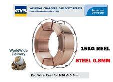 Gys Mig Mag Eco Mag Reel 0.8mm-300mm 15kg Acero Er70s-6 / g3si1 Metal Soldadura De Alambre