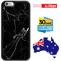 For Apple iPhone 11 pro max 12 XS XR SE 8 plus 7 6 Rubber Case Black Marble King