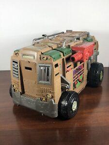 TMNT Ninja Turtles SHELLRAISER Van Vehicle 2012 Viacom Playmates Incomplete