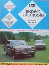 Revue technique MERCEDES W 123 200D 240D DIESEL depuis 83 RTA EXPERT N°193 1982