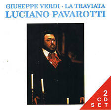 """Luciano Pavarotti """" La Traviata """" Teatro Di Modena 1965 Live 2 CD Set NIP"""